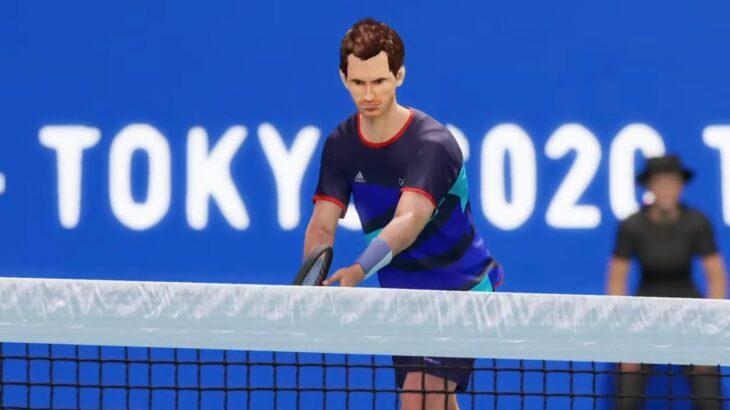 【AOテニス2】錦織圭 v マレー – TOKYO2020