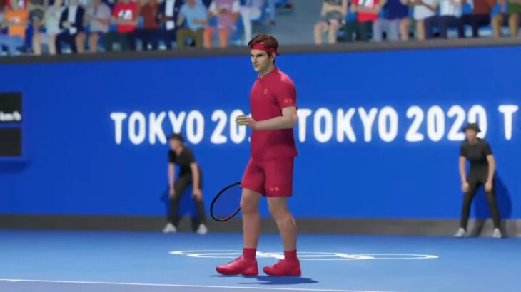 【AOテニス2】錦織圭 v フェデラー – TOKYO2020