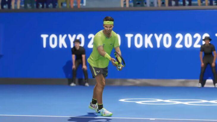 【AOテニス2】錦織圭 v ナダル – TOKYO2020