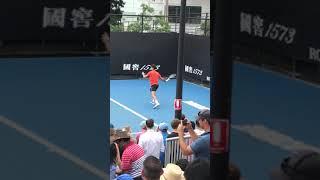 全豪オープン(Australian Open)2019 ㉟ ノバク・ジョコビッチ公開練習