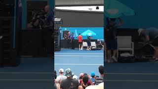 全豪オープン(Australian Open)2019 ㉞ ノバク・ジョコビッチ公開練習