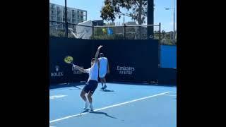 Casper Ruud Serve Normal & Slow Motion.     Tennis  網球 テニス  网球