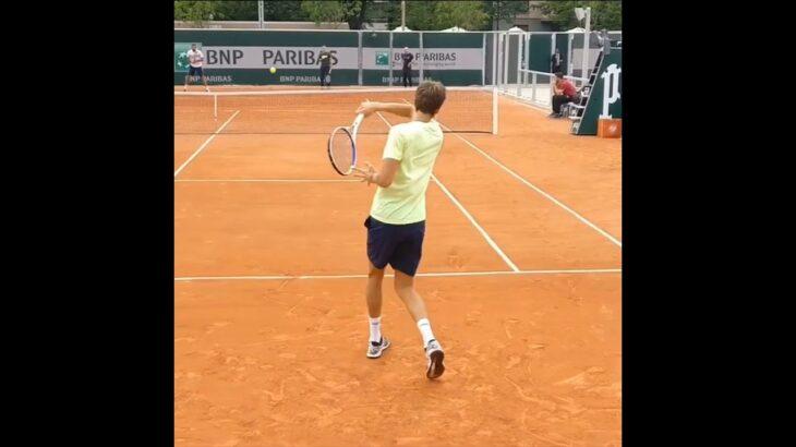 Daniil Medvedev Forehand Hit .    Tennis  網球 テニス  网球