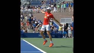 Dominic Thiem Backhand Slice Slow Motion      Tennis 網球 テニス  网球