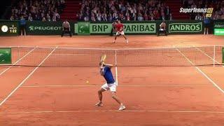 Federer (フェデラー) VS Gasquet (ガスケ)