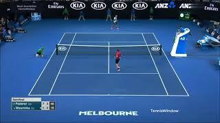 Federer (フェデラー) VS Wawrinka (ワウリンカ)
