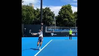 Karen Khachanov Normal & Slow Motion.     Tennis  網球 テニス  网球
