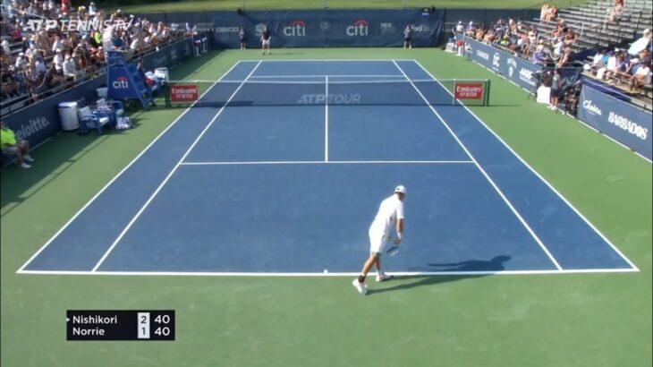 Kei Nishikori vs Cameron Norrie Highlights Citi Open 2021 – Washington HD