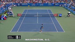 Kei Nishikori 錦織圭 vs Lloyd Harris Highlights Citi Open 2021 – Washington QF Full Match HD ワシントン