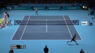 Nishikori (錦織) VS Djokovic 2014 (ジョコビッチ)
