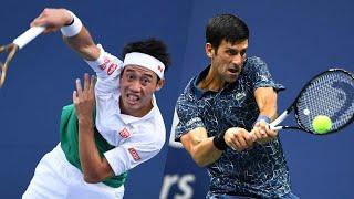 Novak Djokovic vs Kei Nishikori 錦織 圭 Highlights Rome