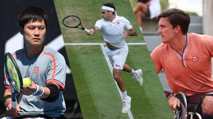 ロジャー・フェデラー✕国枝慎吾✕ゴードン・リードスペシャルトークセッション [Roger Federer ✕ Shingo Kunieda ✕ Gordon Reid Special Session]