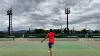 『TENNIS】STA championship singles         須藤VS西尾 2021.8.8小田原テニスガーデン
