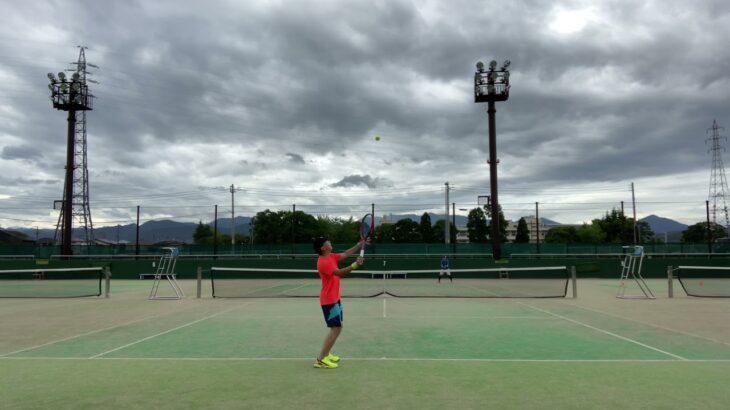 【TENNIS】STA championship singles         西尾VS山根小田原テニスガーデン