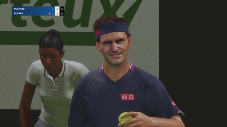 [Tennis World Tour 2] [テニス ワールドツアー2] [AI VS AI] [4K] [60FPS] [PS5]GamePlay