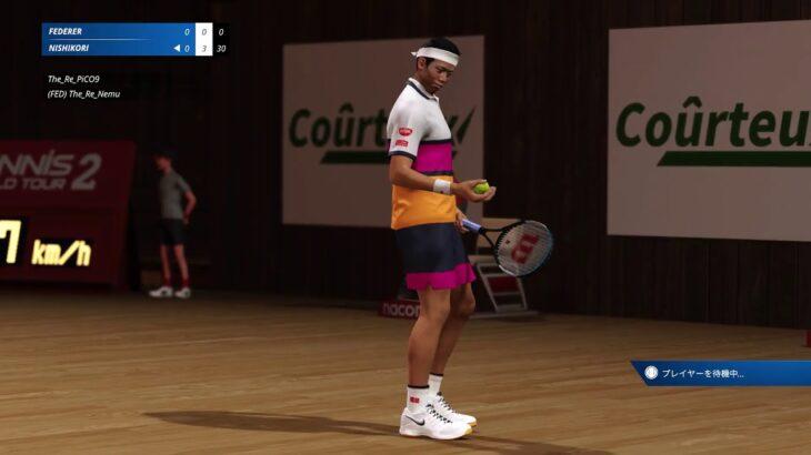 テニスの王子様に憧れた男たち【Tennis World Tour2】