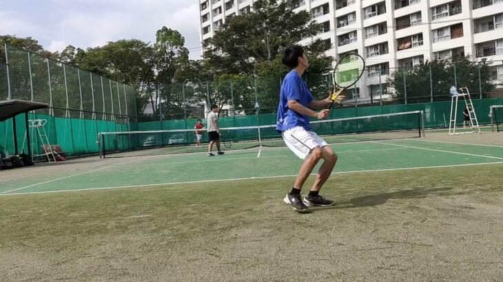 【Tennis/テニス】Doubles match (ごぼう・仙人 vs Carry・俊足)