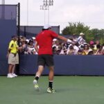 Tommy Haas Topspin Backhand Return.     Tennis 網球 テニス  网球