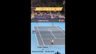 【UNIQLO Life wear day / Tennis】Federer / Kunieda / Reid / Isner /フェデラー選手/国枝選手/リード選手/イズナー選手  #Shorts