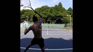 【テニス】ナダルのスピンが打ちたい!! 【nadal spin】 【Shorts】