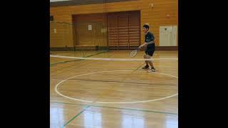 クッソダサい卓テニのプレー………【テニス自虐ネタ動画】(tennis)#Shorts