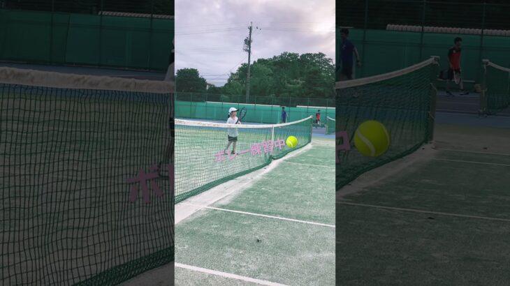【キッズテニス】きほちゃんテニス    #キッズテニス#テニス#tennis#kids tennis#ゆず
