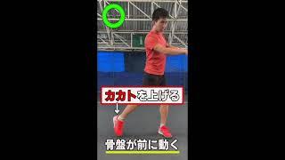 テニスの基本フットワークはこれだ!大事なのは骨盤の動きと前足の角度!