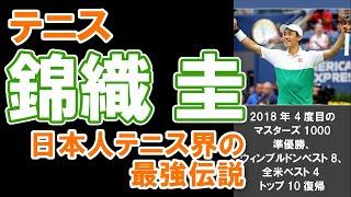 【テニス・錦織圭】日本人テニス界の最強伝説