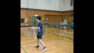 【テニスあるある】学校に1人はいる❗❓やる気のない奴……..【テニスネタ動画】(tennis)#Shorts