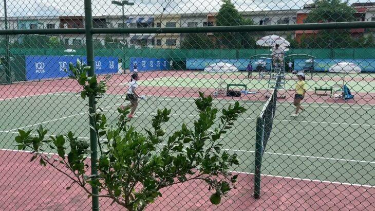 【優勝の瞬間】11歳女子 U12 女子テニストーナメント チャンピオンシップポイントの一打!U12 Girl tennis tournament championship point!