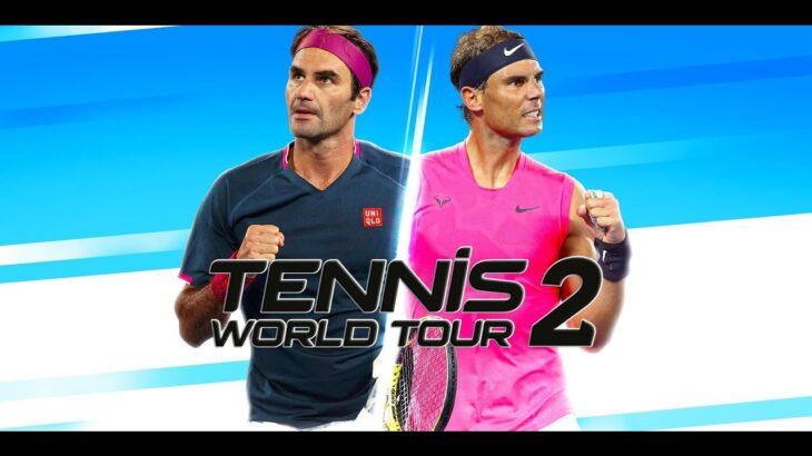 暑いからテニスやりましょう【テニス ワールドツアー 2  Tennis World Tour2】