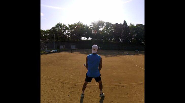 【テニス】ナダルのトップスピンは打てないけど自分なりのスピンを磨いてた2年前 【nadal spin】 【Shorts】