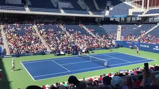 2019 USopen   Kei Nishikori & Novak Dokovic practic(2019年USOPEN 錦織圭 ノバクジョコビッチ 練習) テニス