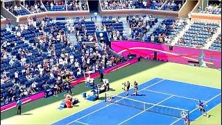 【生観戦】ジョコビッチからタイブレークの末第一セット先取した錦織圭選手!全米オープン2021