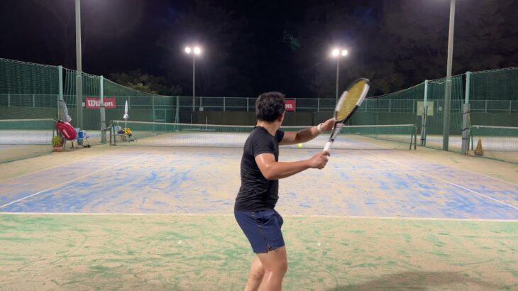 【テニス】#8 タキシードラケットでフェデラーを目指して