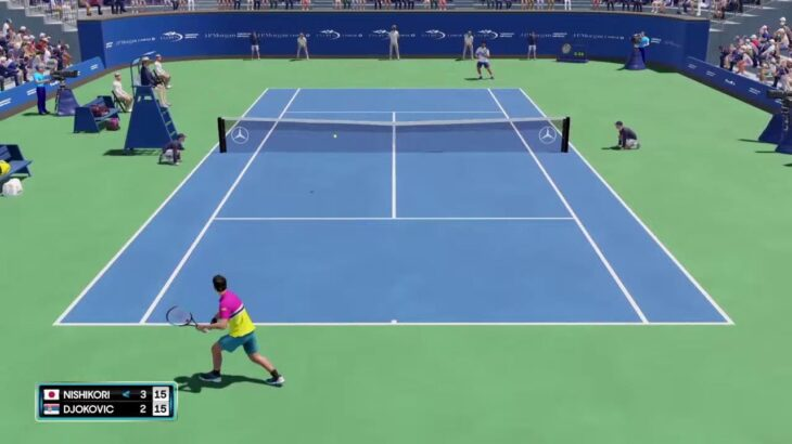 【AOテニス2】錦織圭 v ジョコビッチ – USオープン2021