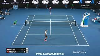 Federer (フェデラー) VS Melzer (メルツァー)