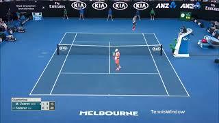 Federer (フェデラー) VS Mischa Zverev (ミーシャ ズベレフ)
