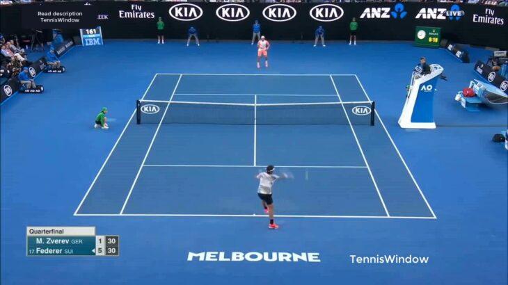 Federer (フェデラー) VS Mischa Zverev