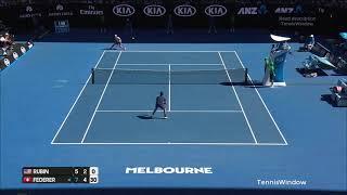 Federer (フェデラー) VS Rubin