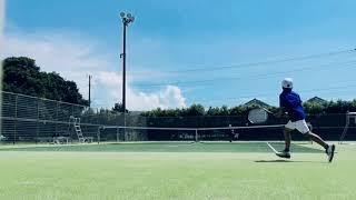 Junior tennis 9years old テニス試合 9歳01
