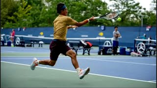 Kei Nishikori (錦織圭) Practice at US Open 2021 (Highlights)