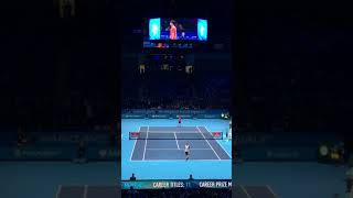 Kei Nishikori vs Stan Wawrinka before match【ATP Finals in London 2016】 #Shorts
