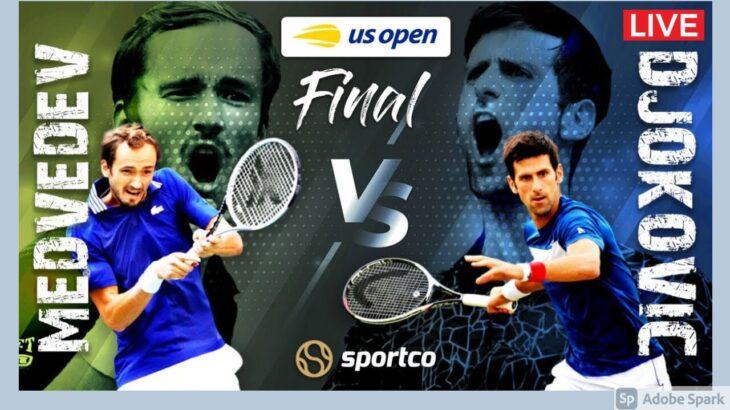 🔴【LIVE配信】ノバク・ジョコビッチ vs ダニール・メドベージェフ「全米オープンテニス2021決勝」生中継