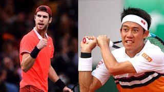 錦織 圭 Nishikori vs カレン・ハチャノフ