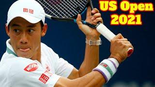 Novak Djokovic vs Kei Nishikori .. Highlights .. US Open 2021