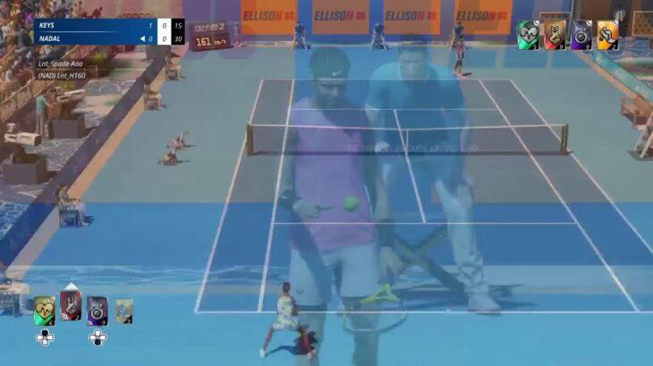 [PS5:Tennis world tour] もとテニス部行きます(軟式)