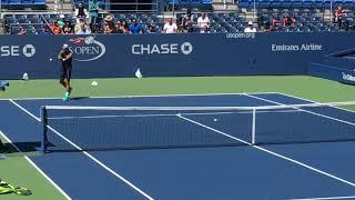 Rafael Nadal practice【US OPEN 2016】 ナダルの練習 全米オープン2016