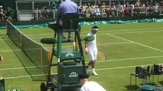 Wimbledon錦織圭【1回戦】
