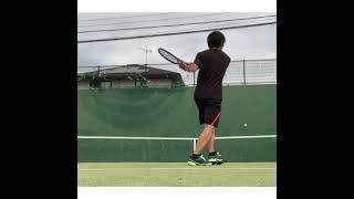 【テニス】フェデラー好き 壁打ち #shorts #federer  #tennis #テニス 激薄グリップ
